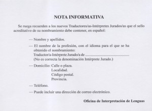 Fuente: Oficina de Interpretación de Lenguas